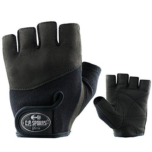 Iron-Handschuh Komfort F7-1 - Fitness Handschuhe, Trainings Handschuhe C.P. Sports mit Größentabelle, Bodybuilding, Kraftsport