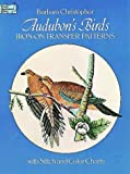 Iron on Transfer Patterns-Audubon Birds, Barbara Christopher, 0486237672