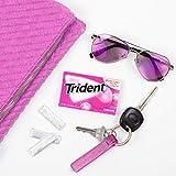 Trident Bubblegum Sugar Free Gum, 12 Packs of 14
