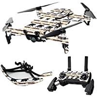MightySkins Skin for DJI Mavic Air Drone - Lodge Stripes | Max Combo Protective, Durable, and Unique Vinyl Decal wrap cover | Easy To Apply, Remove, and Change Styles | Made in the USA