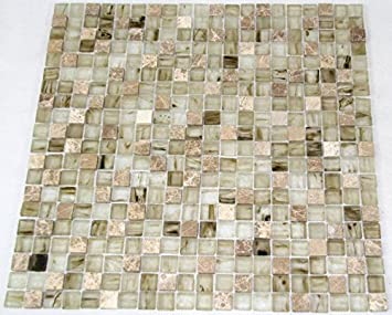 Restposten Fliesen Mosaik Mosaikfliesen Glas Stein Mix Beige Mm Bad - Restposten fliesen aussen