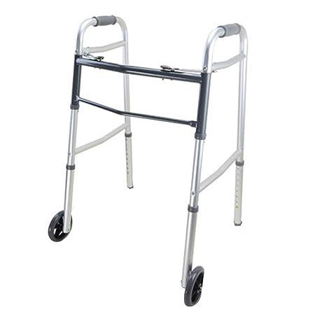 Walk Aid Andador Plegable para Personas Mayores - Andador para ...
