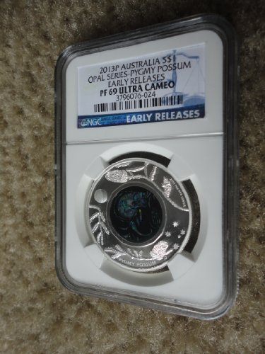 2013 Pygmy Possum OPAL SERIES 1oz silver proof coin NGC PF69 Ultra Cameo Australia (sold by OCEANIA COINS)