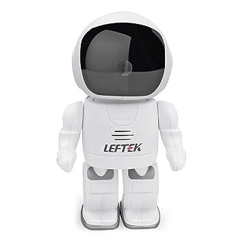 Leftek R10 960P HD wireless Space robot camera Baby monitor ...