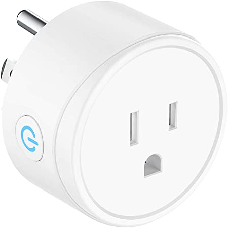 Google Home and IFTTT Timing Function Remote Control No Hub Required Smart Plug WiFi Socket TECKIN Mini Smart Outlet Compatible with Alexa Echo and Echo Dot 2-1 Pack