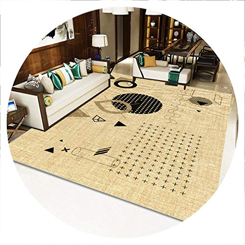 Geometric Modern Carpets for Living Room Home Nordic Bedside Bedroom Blanket Area Rug Soft Study Room Floor Rug,8,60x90cm