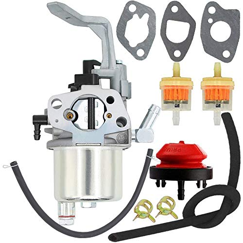 Yooppa 208cc Carburetor for LCT 03021 and 03022 L10 208cc GEN I Snow Blower Thrower Winter Generator Carburetor