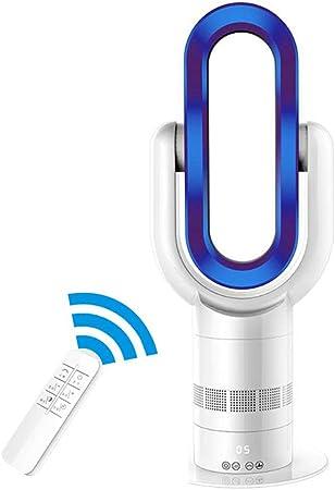 Ventilador sin Hojas/Piso Inteligente Aire Acondicionado de refrigeración circulante de Doble Uso/calefacción y refrigeración de Doble Uso Ultra silencioso,Blue ...