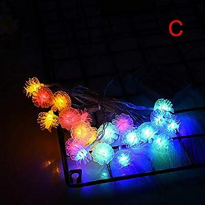 20 LED Christmas String Fairy Light Xmas Tree LED Lights Outdoor Garland