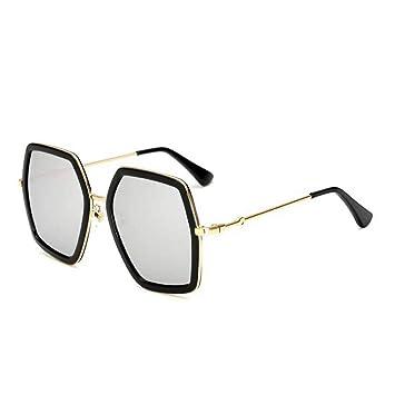 Hjyi Protección UV de Marco Grande Gafas de Sol SeñOra De La ...