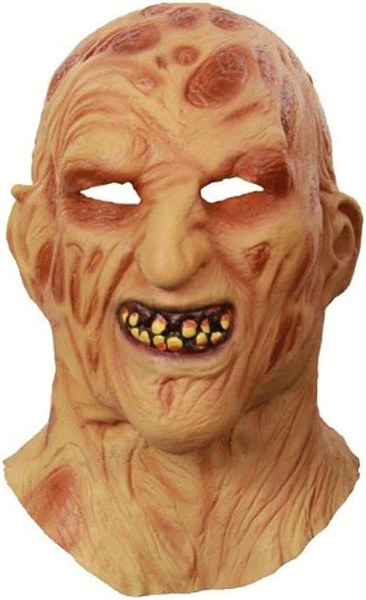 Tanxinxing Máscara de Halloween Juego de Roles de la Cara Llena ...