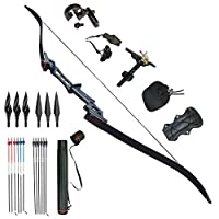 D&Q Archery Hunting Recurve Bow Set ...