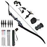 Archery Recurve Bow 30-60lbs Hunting Takedown Outdoor Bow (40lbs)