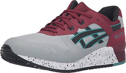 ASICS Men's Gel-Lyte Iii NS Fashion Sneaker, Light Grey/Black, 12 M US
