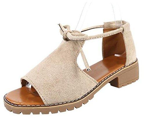 Lace Flats Perfues Women Footwear up Shoes Summer Casual Fashion Comfortable Sandals Sandals Flip Beige Flops XwapxTaq
