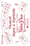 Musical Signs and Symbols Set Ii 24 Cards 48 Sides Moppet Flash Cards, Robert Pace, 0793595126