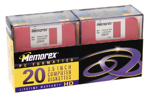 "Memorex 32103674 3.5"" Floppy Disk (MF2HD IBM Formatted, for sale  Delivered anywhere in USA"