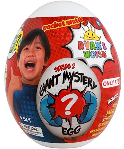 Ryan's World Limited Edition Exclusive Giant Mystery Egg Series 2 White by RYAN'S WORLD