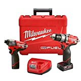 Milwaukee Electric Tool 2597-22 M12 Drill/Driver, 1/2″