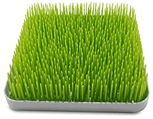 Breve Home Goods BPA-Free Baby Bottle Countertop Drying Grass Rack, 3-Piece Design