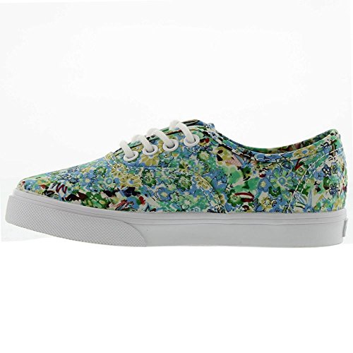 Bestelwagens Kids Authentic Lo Pro (little Big) Ditsy Floral Pool Green
