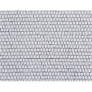 Faller 170646 - Placa de adoquines cuadrados (480 x 350 mm) [importado de Alemania]: Amazon.es: Juguetes y juegos