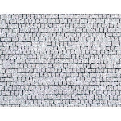 Faller 170646 - Placa de adoquines cuadrados (480 x 350 mm) [importado de