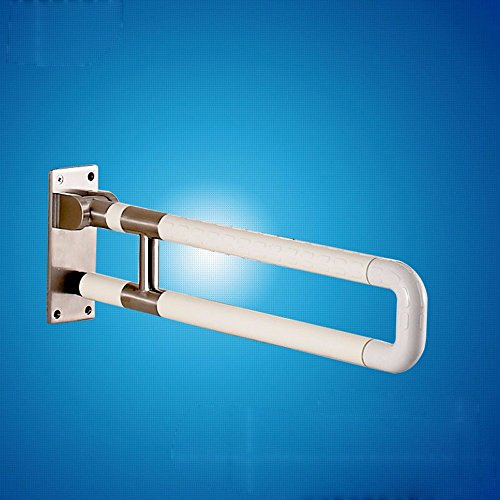 MDRW-Safety Handrail Bathroom Safety Handrails Barrier Free 304 Stainless Steel Handrails Bathroom Skid Disabled Elderly Handrails by Olici