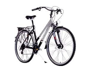 Karcher 280309 - Bicicleta para mujer , cuadro 50 cm, color multicolor