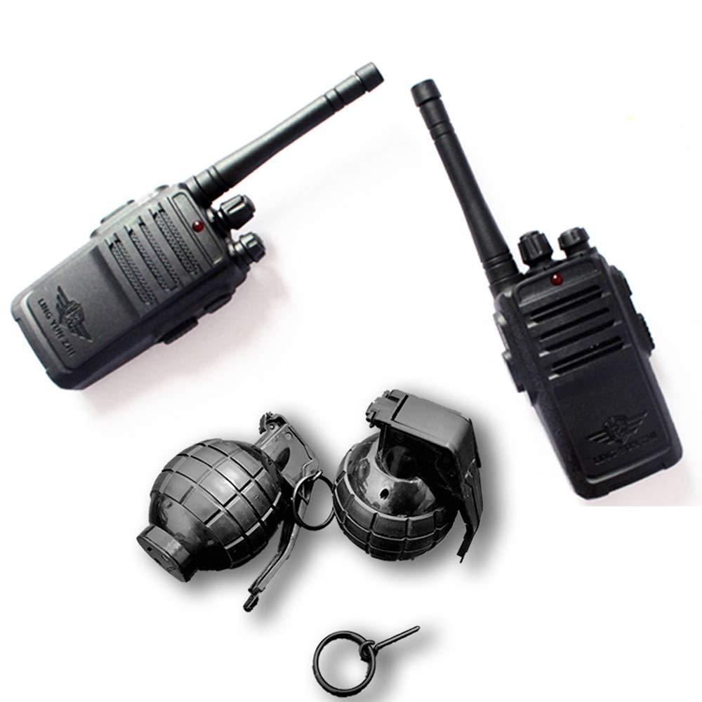 Walkie Talkies with Binoculars for Kids - Voice Activated Walkie Talkies for Boys or Girls, Walkie Talkie Toys Set,grenadesuit by TTOP (Image #1)