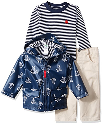 little me Baby Boys 'chamarra y pantalones de 2piezas, boat, 18 meses