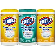 Clorox Disinfecting Wipes Value Pack, Fresh Scent and...