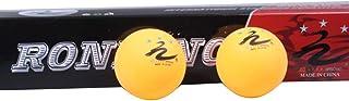 BS-Sport-4 Ensemble de 6 Ballons d'entraînement Samsung pour compétition de Tennis de Table Tennis de Table Standard International Jaune Blanc Tennis de Table - 5 Box