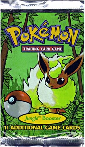 pokemon booster pack jungle - 4