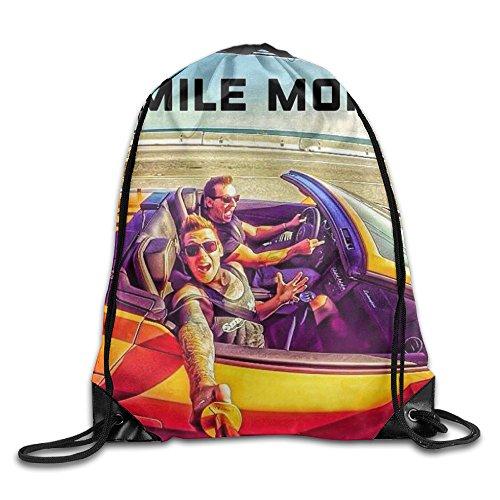 YotoGo Roman Atwood Youtuber Smile More Drawstring Backpacks Bags
