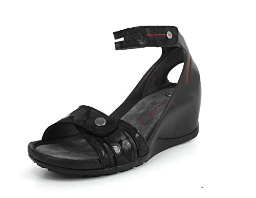 31ba720cc96a Wolky Comfort Sandals ZA - 12000 Black Nubuck - 41  Amazon.co.uk ...