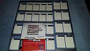 Boone(R) Week Over Week(TM) Dry-Erase Calendar Magnet System