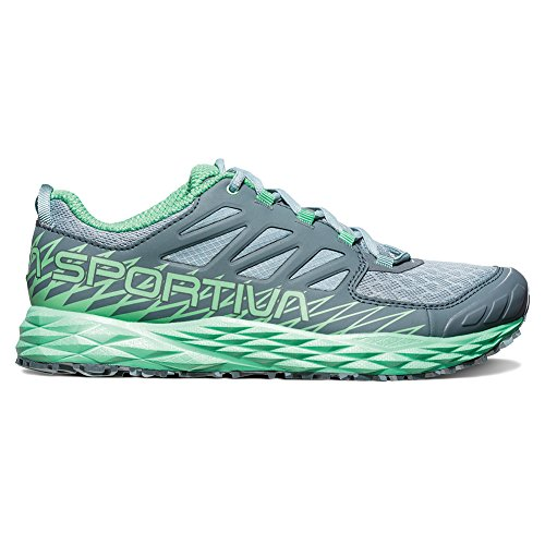 La Sportiva Lycan Running Shoe - Womens Stone Blue/Jade Green 10gd3