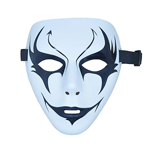 Amazon.com: LRRH Halloween Mask Cool Ninja Cosplay Props ...