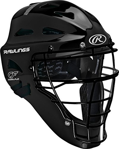 Rawlings Sporting Players Series Goods Catchers Helmet, Black by Rawlings