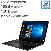 ASUS ZenBook UX550VE 15.6 Touchscreen Laptop - Intel Core i7 - Microsoft Windows 10 Pro