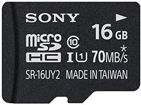 Amazon.com: Sony Class 10 UHS-1 tarjeta de memoria Micro ...