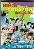 NINOS DE CORAZON CINE EN FAMILIA (8 PELICULAS) 1-. ALADINO Y LA LAMPARA MARAVILLOSA CON CLAVILLAZO Y ANA BERTHA LEPE & 2-.LAS MIL Y UNA NOCHES CON TIN TAN Y MARIA ANTONIETA PONS & 3-.LAS AVENTURAS DE JOSELITO Y PULGARCITO & 4-.LA MAESTRA INOLVIDABLE CON MARIA RIVAS & 5-.LOS TRES MOSQUETEROS Y MEDIO CON TIN TAN & 6-.LAS AVENTURAS DE PITO PEREZ CON TIN TAN & 7-.LO QUE LE PASO A SANSON CON TIN TAN Y ANA BERTHA LEPE & 8-.EN BUSCA DE SANTA CLAUS.