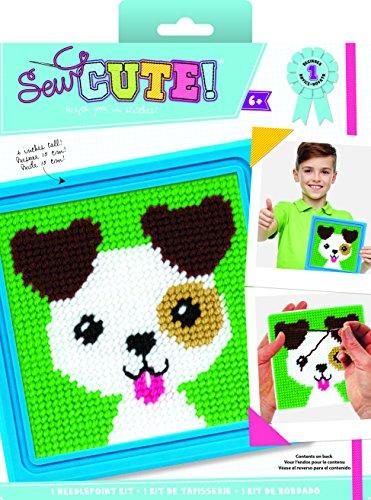 (Colorbok Sew Cute Needlepoint Jack Dog)