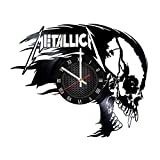 home decor ideas Metallica Home Decor vinyl Music Clock Singer Band Legend Gift Idea for Him Fan club Home Decor Idea Wall Clock Design Special Offer Special Occasion Wall Clock Music Bands and Musicians Themed