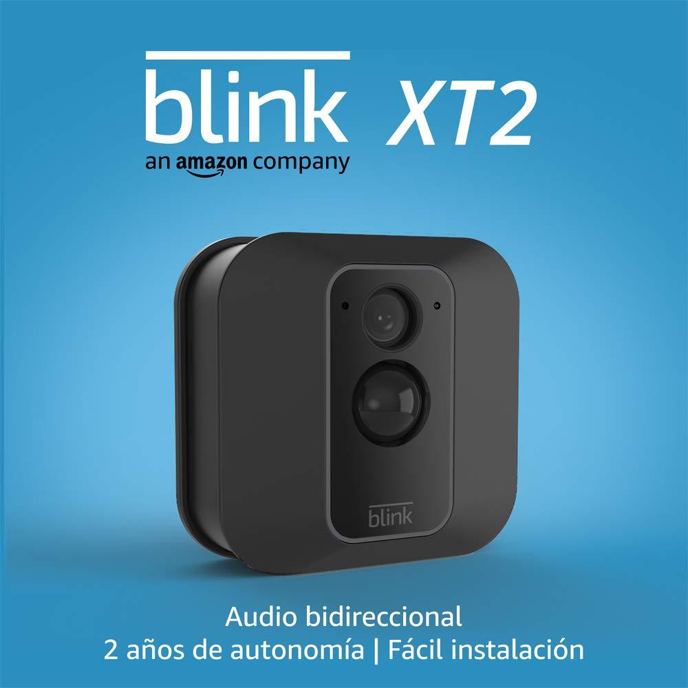 Blink XT2 | Cámara de seguridad inteligente, exteriores e interiores, almacenamiento en el Cloud, audio bidireccional, 2 años de autonomía | 1 cámara