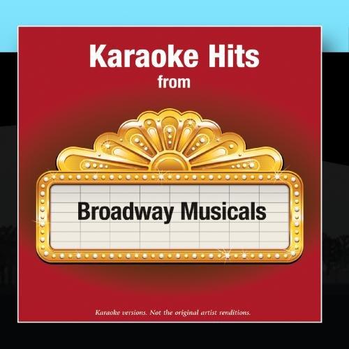 Karaoke Hits from - Broadway Musicals (Karaoke Cds Broadway)