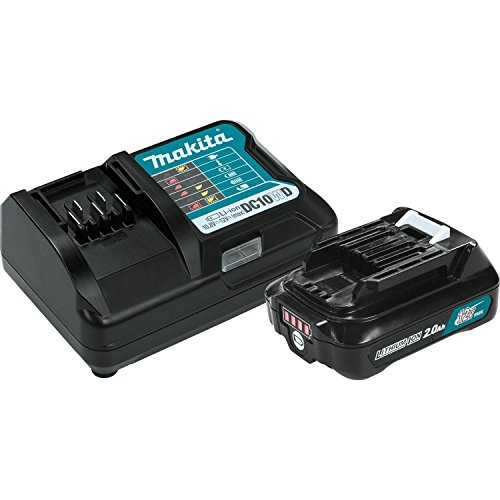 Makita BL1021BDC1 12V Max CXT Lithium-Ion Battery and Charger Starter Pack (12v Makita Battery)