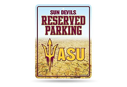 Maroon Parking Sign (Rico NCAA Alabama A&M Bulldogs 8-Inch by 11-Inch Metal Parking Sign Décor)