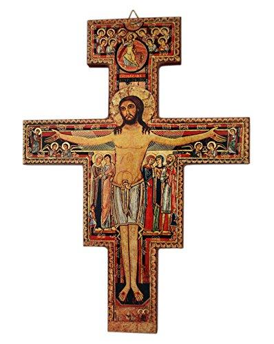 Venerare Deluxe San Damiano Crucifix (8 X 6)